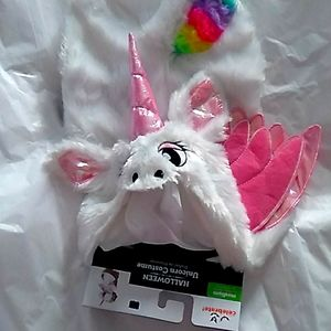 Celebrate Halloween Unicorn dog/ cat costume- M